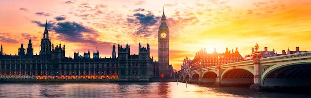 Big ben und house of parliament Premium Fotos