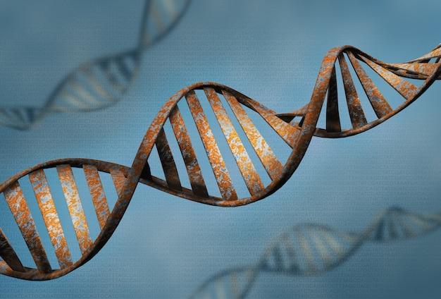 Biotechnologiekonzept alter dna Premium Fotos