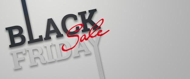 Black friday-verkaufsbeschriftungsillustration Premium Fotos