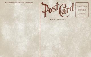 Blank vintage postcard grunge edition kostenlos Kostenlose Fotos