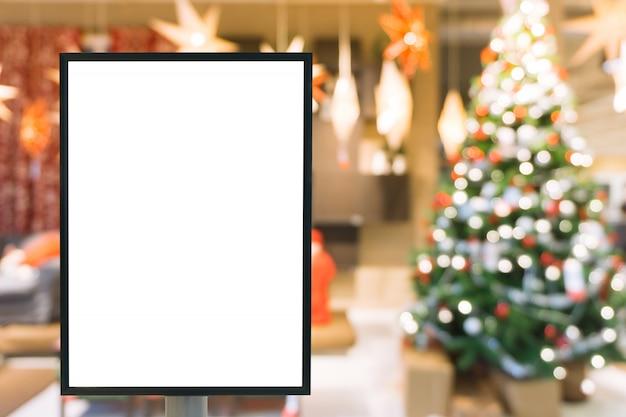 Blank Zeichen mit Kopie Platz für Ihre SMS-Nachricht oder Mock up ...