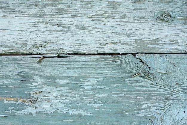 Blaue hölzerne planken gemalt schäbig Premium Fotos