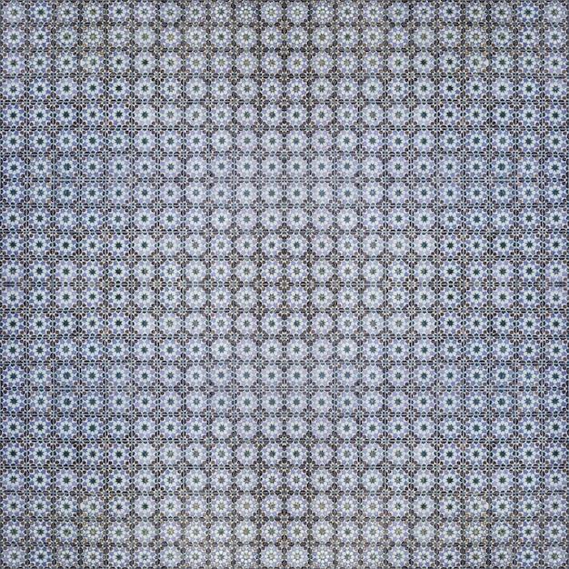 Blaue Hydraulische Fliesen Muster Kostenlose Fotos
