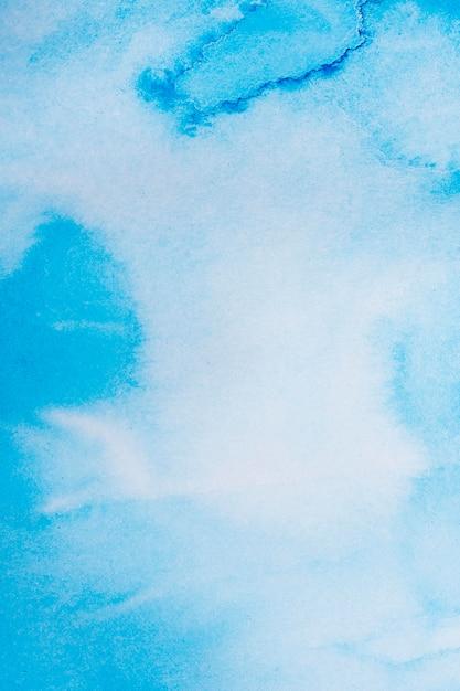 Blauer aquarellhintergrund des abstrakten gradienten Kostenlose Fotos