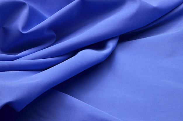 Blauer denim-stoff Premium Fotos