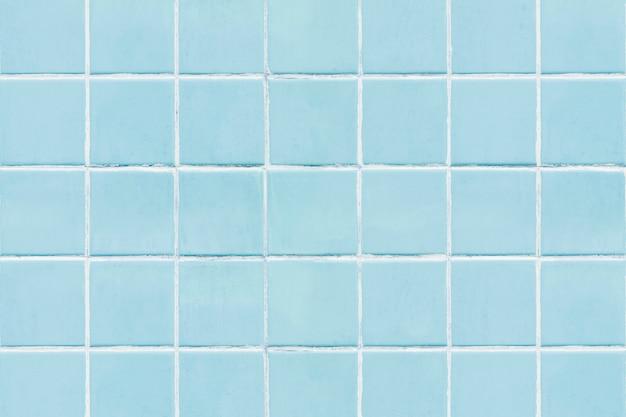 Blauer quadratischer mit ziegeln gedeckter beschaffenheitshintergrund Kostenlose Fotos