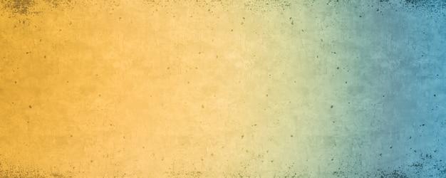 Blauer und gelber farbverlauf, helle bunte hintergrundbeschaffenheit Premium Fotos