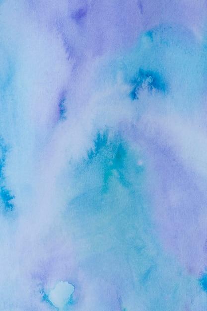 Blauer und violetter aquarellhintergrund Kostenlose Fotos