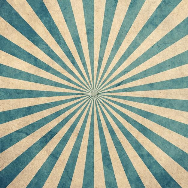Blauer und weißer sonnendurchbruchweinlese- und -musterhintergrund mit raum. Premium Fotos