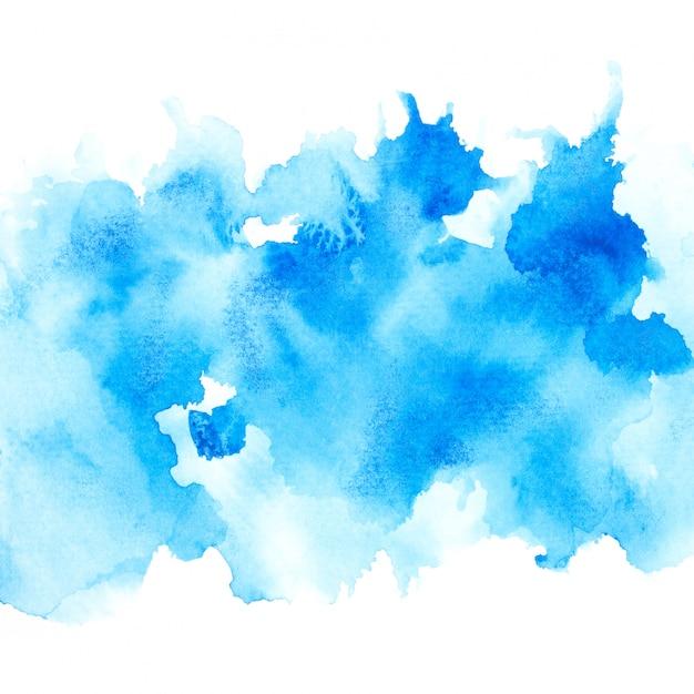 Blaues aquarell Premium Fotos