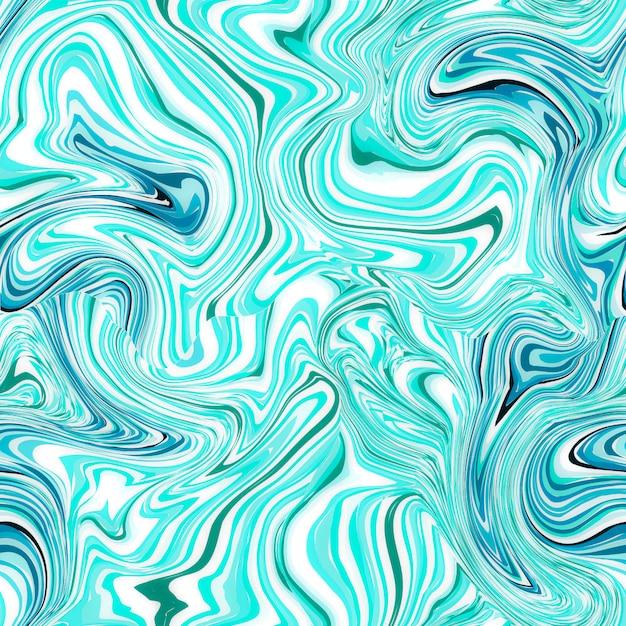 Blaues nahtloses marmormuster Premium Fotos