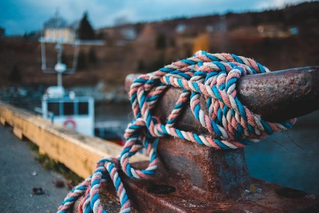 Blaugrünes und rosa seil Kostenlose Fotos