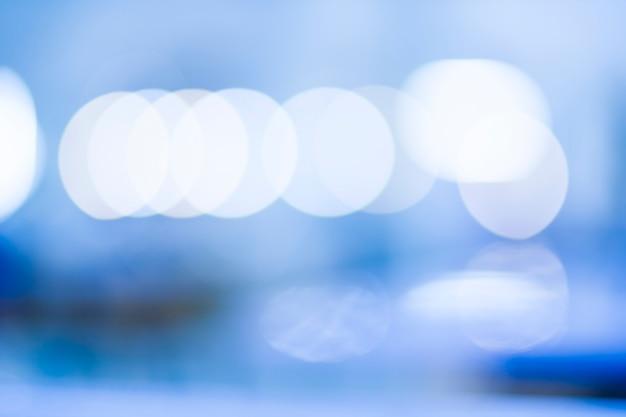 Blauton bokeh von unscharf effekt Premium Fotos