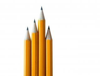 Bleistifte isoliert Kostenlose Fotos