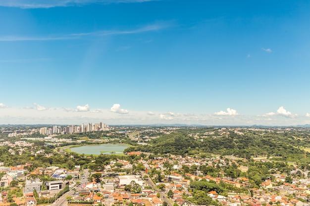 Blick vom aussichtsturm curitiba Premium Fotos