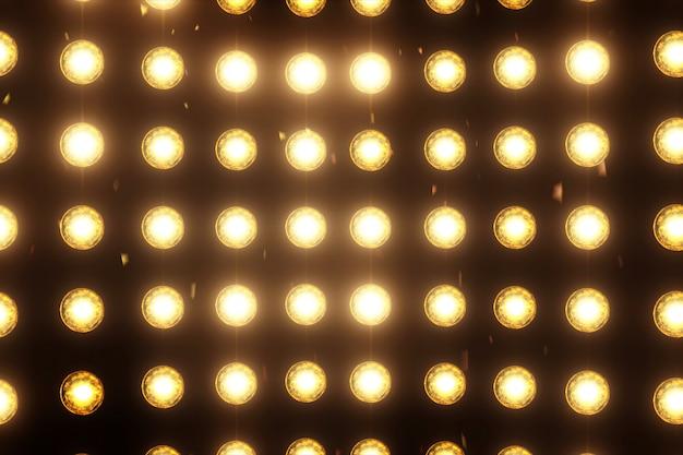 Blitzlicht disco wand Premium Fotos