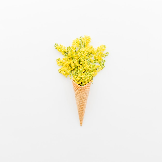 Blumenstrauß mit kornett Kostenlose Fotos