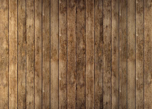 Boden oder wand aus rustikalen holzbrettern Premium Fotos
