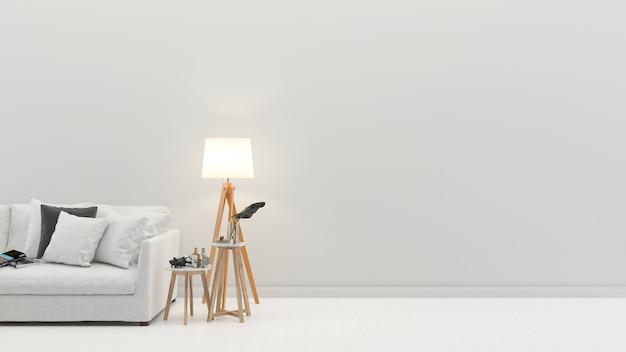 Bodenwand-marmorhintergrundbeschaffenheit des innenwohnzimmers moderne Premium Fotos