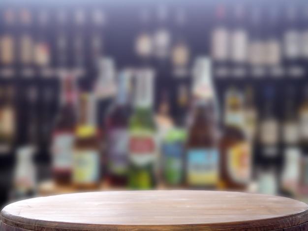 Bokeh alkohol cristal flaschen Premium Fotos