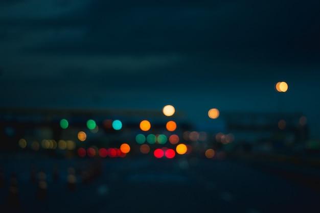 Bokeh colorfull verwischte abstrakten hintergrund Premium Fotos