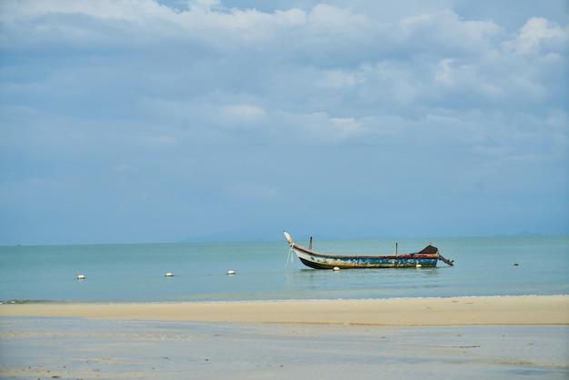 Boot auf dem strand Kostenlose Fotos