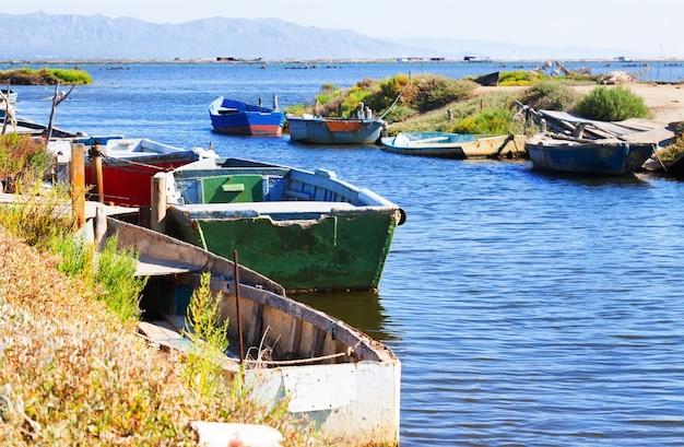 Boote im delta des ebro Kostenlose Fotos