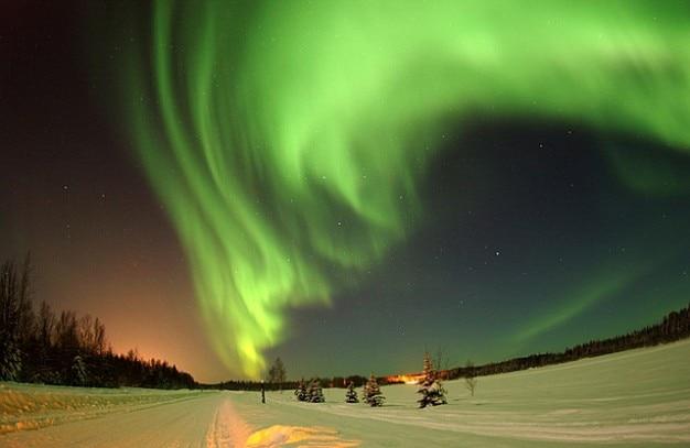 Borealis alaska himmel aurora wildnis Kostenlose Fotos