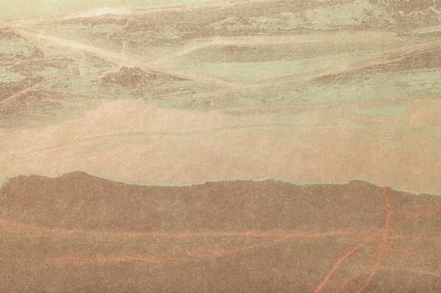Braune und bronzefarbe der abstrakten kunst. mehrfarbenmalerei auf segeltuch. Premium Fotos