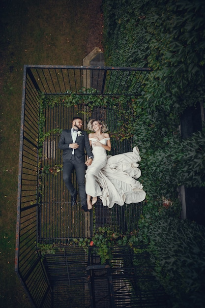 Braut und bräutigam Kostenlose Fotos