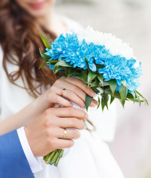 Braut und bräutigam Premium Fotos