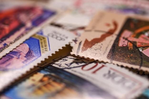 Briefmarke Premium Fotos