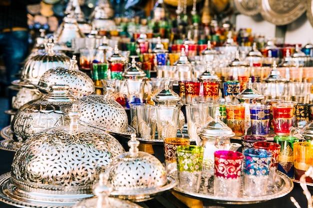 Brille auf dem markt in marokko Kostenlose Fotos