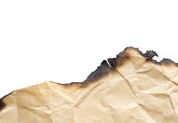 Brown-weinlese brannte papier, lokalisierte details, großen hintergrund, beschaffenheit Premium Fotos