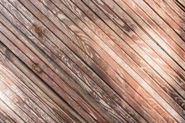 Brown wood plank hintergrund und textur. Kostenlose Fotos