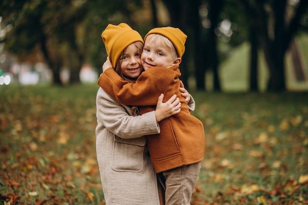 Bruder Und Schwester Haben Spaß Daheim