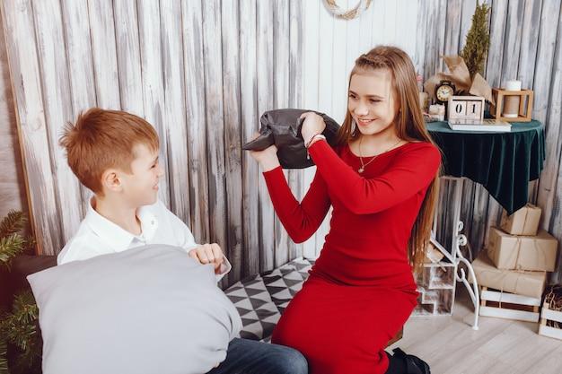 bruder und schwester   kostenlose foto