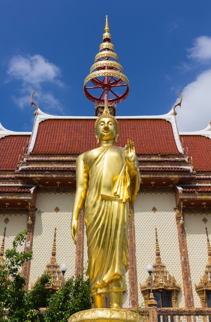 Buddha-statue in wat ban rai, provinz nakhon ratchasima, thailand Premium Fotos
