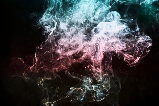 Bündel bunten rauch Kostenlose Fotos
