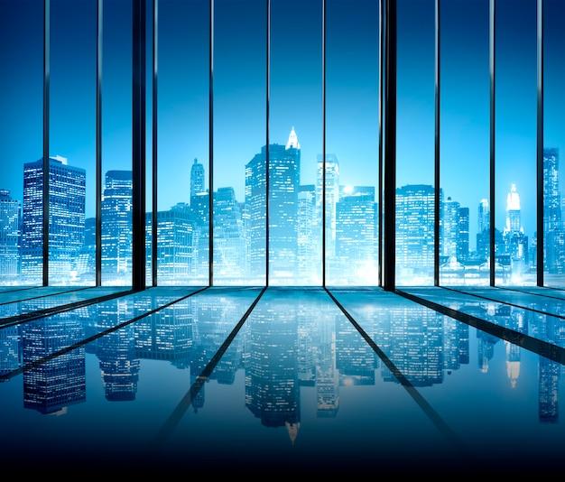 Büro-stadtbild builidings zeitgenössisches innenzimmer-modernes konzept Kostenlose Fotos