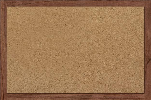 Bulletin cork boards holzrahmen Premium Fotos