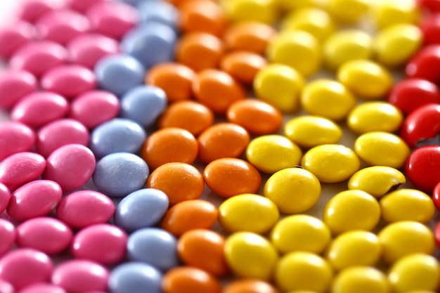Bunt glasierte bonbons Kostenlose Fotos