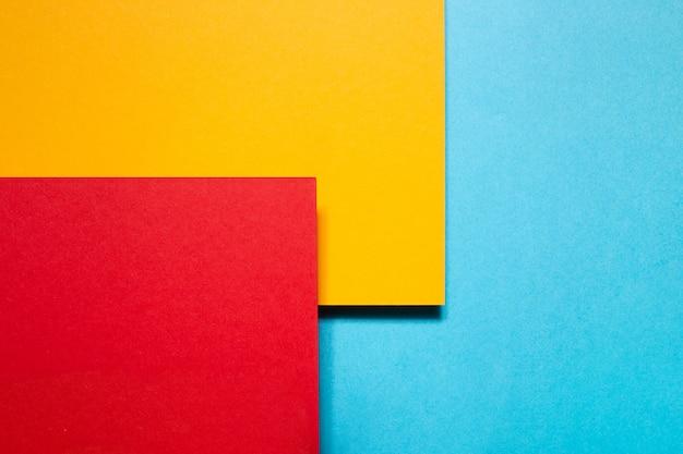 Bunte geometrische pappen Kostenlose Fotos