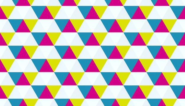 Bunte geometrische textur. sechseckige elemente. Premium Fotos