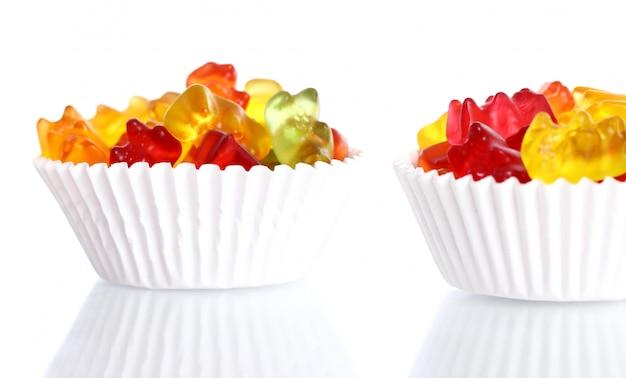 Bunte gummibärchensüßigkeiten Kostenlose Fotos