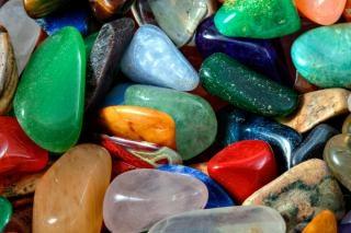 Bunte steine textur hdr hautnah Kostenlose Fotos