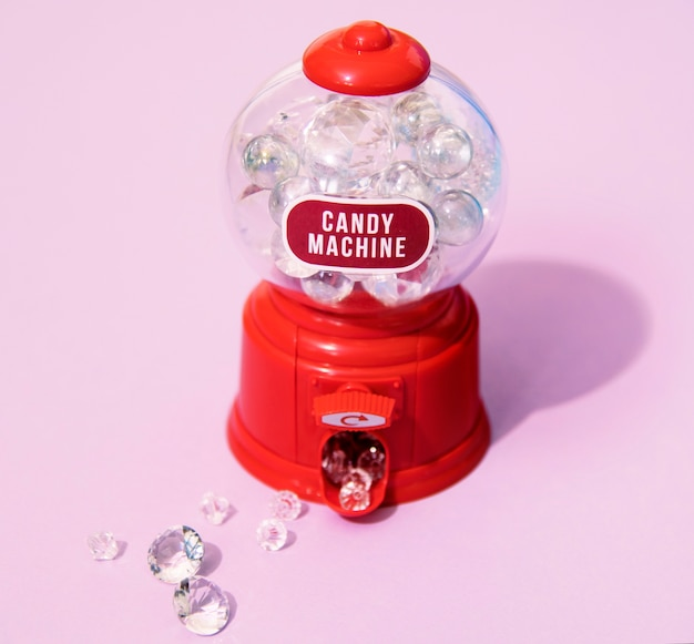 Bunte und helle süßigkeitsmaschine Kostenlose Fotos