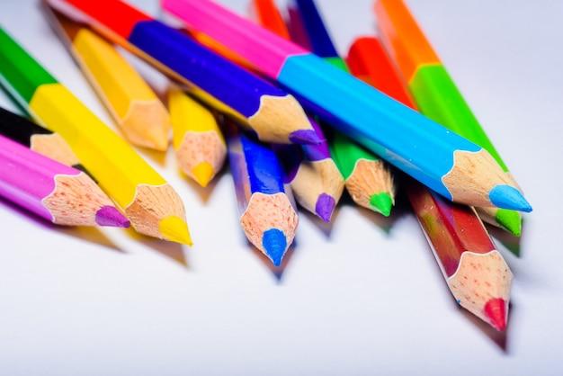 Buntstift, farbstift Premium Fotos