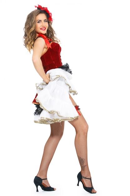 Burleske. attraktiver tänzer auf fersen Kostenlose Fotos