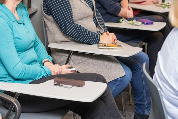 Business training publikum skizziert Premium Fotos